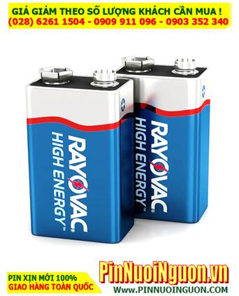 Pin thiết bị đo cầm tay Rayovac 9V ( 6LR61, MN1604B) chính hãng Made in USA