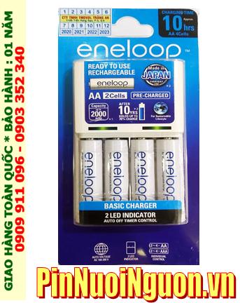 Panasonic BQ-CC51E _Bộ sạc Panasonic Eneloop BQ-CC51E kèm 4 pin sạc Eneloop AA1900mAh 1.2v