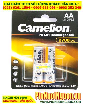 Camelion NH-AA2700BP2; Pin sạc AA2700mAh 1.2v Camelion NH-AA2700BP2 chính hãng _Vỉ 2viên