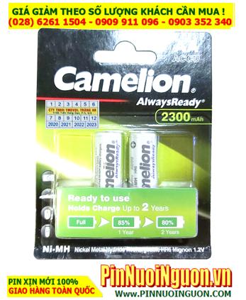 Camelion NH-AA2300ARBP2 _Pin sạc AA 2300mAh 1.2v Camelion Alwaysready NH-AA2300ARBP2 _Vỉ 2viên
