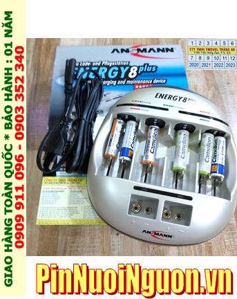 Ansman Energy 8Plus _Bộ sạc đa kèm sẳn 06 Pin sạc Camelion NH-AA2700LBP2 (AA2700mAh 1.2v)