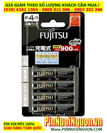 Fujitsu HR-4UTHC(4B); Pin sạc AAA 1.2v Fujitsu HR-4UTHC(4B) AAA950mAh _Nội địa Nhật _Vỉ 4viên