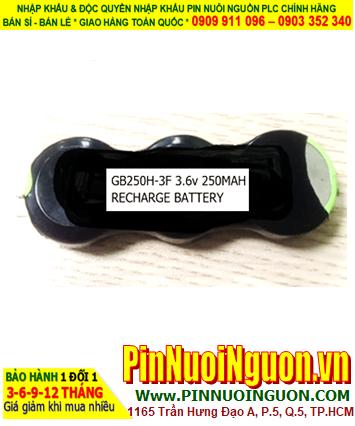 GB250H-3F _Pin sạc NiMh nuôi nguồn PLC GB250H-3F (250mAh 3.6v) _CÒN HÀNG