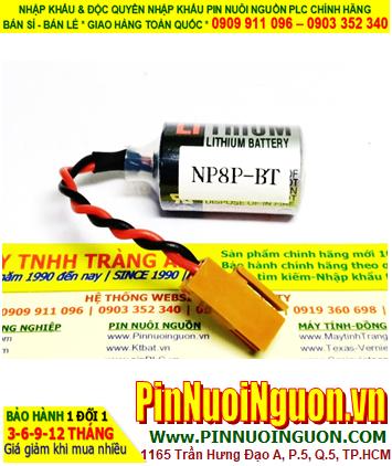 Pin nuôi nguồn PLC NP1PS NP8P-BT; Pin nuôi nguồn Mitsubishi PLC NP1PS NP8P-BT _Xuất xứ Pháp