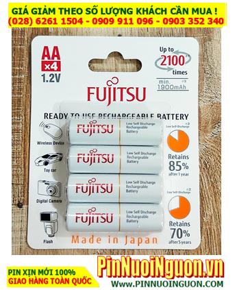 Fujitsu HR-3UTCEX(4B); Pin sạc AA2000mAh 1.2v Fujitsu HR-3UTCEX(4B) Type 2000mA _Min 1900mAh (Japan)