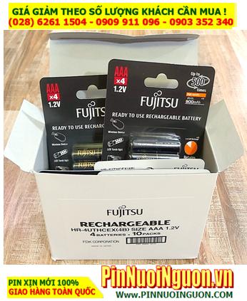 COMBO 1HỘP (40viên) Pin sạc AAA950mAh 1.2v Fujitsu HR-4UTHCEX(4B) Made in Japan _Giá chỉ 2.590.000đ/HỘP