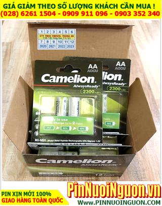 COMBO 1HỘP 12vỉ (24viên) Pin sạc AA2300mAh 1.2v Camelion NH-AA2300ARBP2 _Giá chỉ 799.000đ/HỘP 24viên