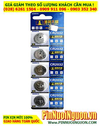 COMBO 1vỉ 5viên Pin Tianqiu CR2032 Lithium 3.0v _Giá chỉ 35.000đ/ Vỉ 5viên