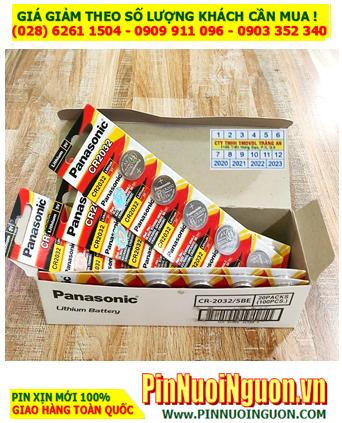 COMBO 01HỘP 20vỉ Pin Panasonic CR2032 lithium 3.0v _Giá chỉ 959.000/ HỘP 100viên