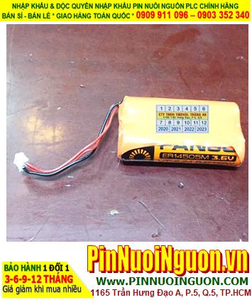 FANSO 2ER14505M _Pin nuôi nguồn PLC FANSO 2ER14505M (2 viên ghép đôi như hình) lithium 3.6v