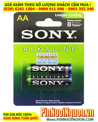 Sony AM3L AA LR6; Pin AA 1.5v Alkaline Sony AM3L-B2D Made in Indonesia   Vỉ 2viên