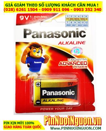 Pin Panasonic 6LR61T/1B; Pin 9v Alkaline Panasonic 6LR61T/1B Made in Japan_ Vỉ 1viên