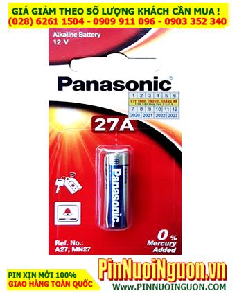 Panasonic 27A _Pin Remote Panasonic 27A _Pin điều khiển Panasonic 27A (Made in ThaiLand) Vỉ 1viên