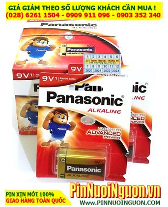 COMBO 1 HỘP 12 vỉ Pin 9v Alkaline Panasonic 6LR61T/1B (Made in Japan) _Giá chí 576.000đ/HỘP