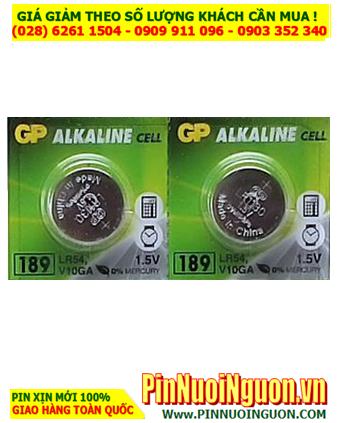 Pin 189 AG10 LR1130 -Pin cúc áo 1.5v Alkaline GP 189 AG10 LR1130 _ 1viên