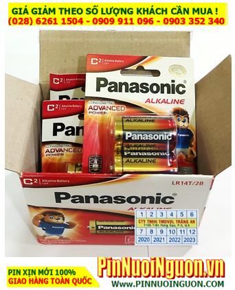 COMBO 1HỘP 12viên Pin Alkaline C 1.5v Panasonic LR14T/2B _Giá chỉ 348.000vnd