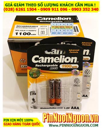 COMBO 1 HỘP 10vỉ Pin SẠC AAA 12v 1100mAh Camelion NH-AAA1100BP2 _Giá 489.000đ/HỘP 20viên
