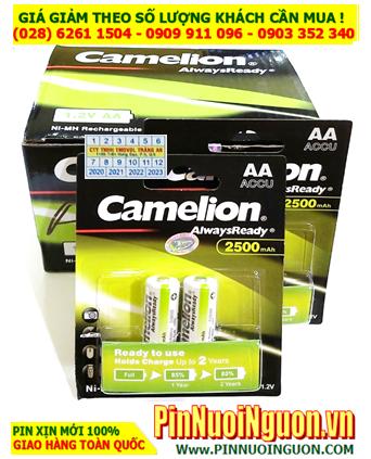 COMBO 1 HỘP 10vỉ (20viên) Pin sạc AA 1.2v 2500mAh Camelion NH-AA2500ARBP2 _Giá chỉ 699.000đ/HỘP