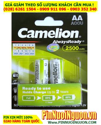 Camelion NH-AA2500ARBP2; Pin sạc AA  2500mAh 1.2v Camelion NH-AA2500ARBP2 _Vỉ 2viên