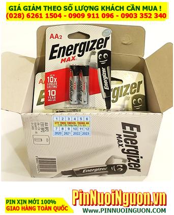 COMBO 1HỘP 20vỉ (40viên) Pin Alkaline AA 1.5v Energizer Max E91-BP2 _Giá chỉ: 440.000đ/HỘP