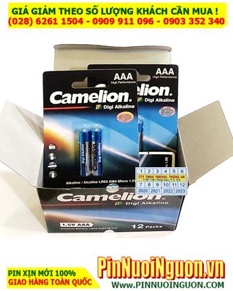 COMBO 1 HỘP 12vỉ (20viên) Pin AAA 1.5v Alkaline Camelion LR03P _Giá chỉ 149.000đ/HỘP 20viên
