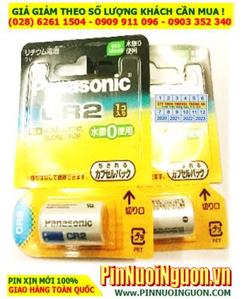Pin CR-2W, CR15H270; Pin CR-2W; Pin CR15H270; Pin Panasonic CR-2W Nội địa Nhật_Vỉ 1viên