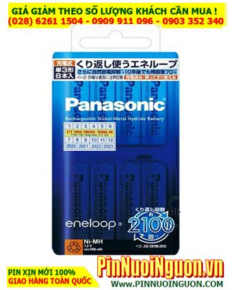 Eneloop BK-3MCC/8; Pin sạc AA1900mAh 1.2v Panasonic Eneloop BK-3MCC/8 Nội địa Nhật _Vỉ 8viên  HẾT HÀNG
