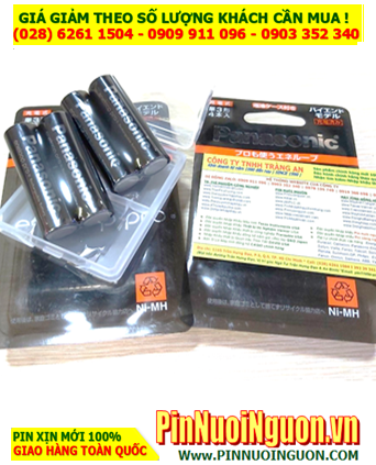 Eneloop Pro BK-3HCD/4C; Pin sạc AA2500mAh 1.5v BK-3HCD/4C Nội địa Nhật_Vỉ 4viên  HẾT HÀNG