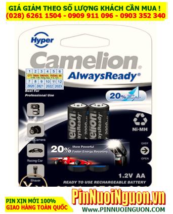 Camelion NH-AA2000HPBP2; Pin sạc AA2000mAh 1.2v Camelion Pro NH-AA2000HPBP2   HẾT HÀNG