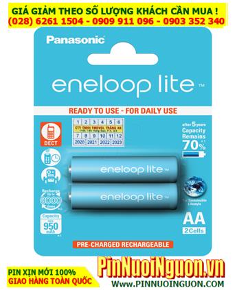 EneloopLite BK-3LCCE/2BT; Pin sạc AA1000mAh 1.2v BK-3LCCE/2BT   HẾT HÀNG