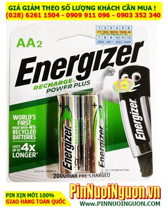 Pin Energizer NH15-PPRP2; Pin sạc AA 1.2v Energizer NH15-PPRP2 AA2000mAh _Made in Japan _Vỉ 2viên