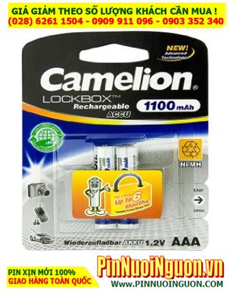 Camelion NH-AAA1100LBP2; Pin sạc AAA 1.2v Camelion NH-AAA1100LBP2 (AAA1100mAh) _Vỉ 2viên
