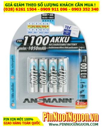 Ansman AAA1100MAH 5035222; Pin sạc AAA 1.2v Ansman AAA1100MAH -BL4  (Loại Vỉ 4viên)